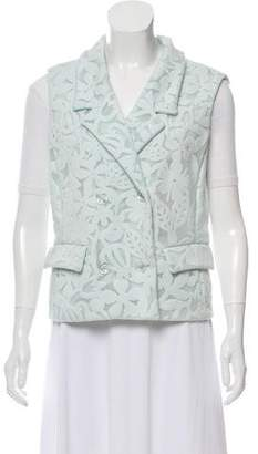 Rochas Fitted Double-Breasted Vest