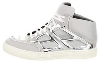 Alejandro Ingelmo Metallic Tron Sneakers silver Metallic Tron Sneakers