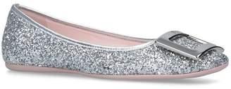 Roger Vivier Glitter Gommette Ballerina Flats