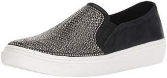 Skechers Women's Goldie-Rhinestone and Pearl Embellished Slip on Sneaker