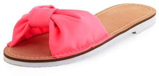 Kate Spade Indi Fabric Slide Sandal, Pink