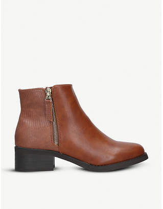 Miss KG Janice faux-leather ankle boots