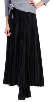 162d5575881d0d Jolie Moi Pleated Crepe Maxi Skirt