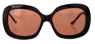 Judith Leiber Embellished Oversize Sunglasses $145 thestylecure.com