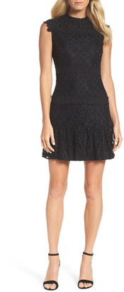 Julia Jordan Lace Sheath Dress