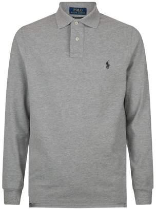 Polo Ralph Lauren Logo Long Sleeve Polo Shirt
