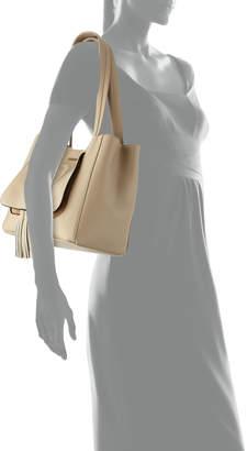Mario Valentino Valentino By Estelle Tassel-Front Tote Bag