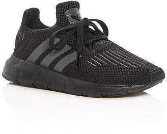 adidas Unisex Swift Run Knit Lace Up Sneakers - Walker, Toddler