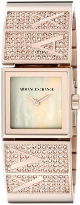 Armani Exchange A|X  Women's AX4210 -Tone Stainless Steel Watch