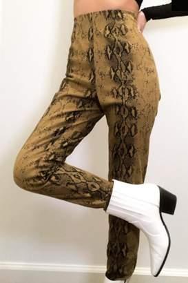 Timeless Snakeskin Legging Pants