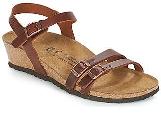 Papillio LANA women's Sandals in Brown