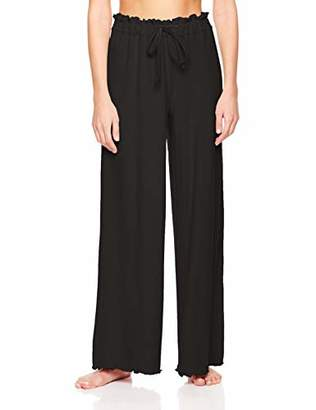 Rebel Canyon Young Women's Hacchi Wide Leg Lounge Pant with Smocked Elastic Waistband (