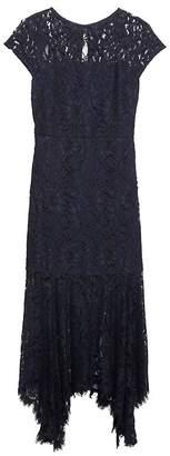 Banana Republic Lace Trumpet Midi Dress