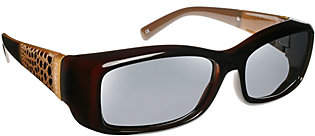 Freesia Haven Fits Over Haven Amber Crocodile Fits Over Sunglasses w/Cloth