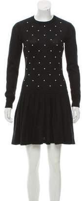 Chanel Embellished Mohair Dress