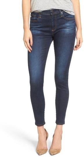 Women's Ag The Farrah High Waist Ankle Skinny Jeans