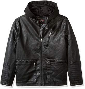Urban Republic Mens Faux Leather Jacket