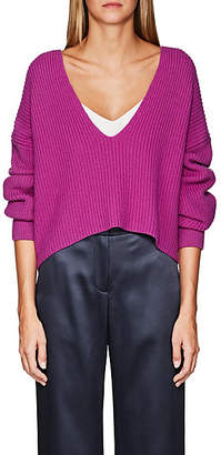 A.L.C. Women's Melanie Rib-Knit Wool Sweater - Pink