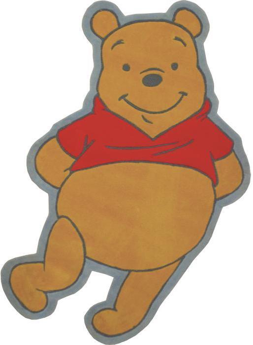 Winnie the Pooh Shape 38 in x 60 in Rug