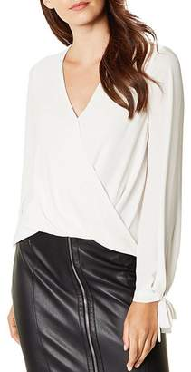 Karen Millen Draped Crossover Top