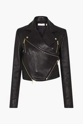 Sass & Bide Leather Biker Jacket