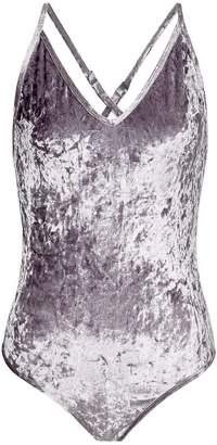 Sam Edelman Crushed Velvet Bodysuit