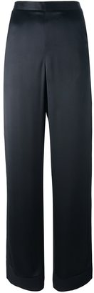 La Perla 'Leisuring' wide leg trousers $1,155 thestylecure.com