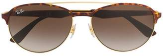 Ray-Ban round frame sunglasses