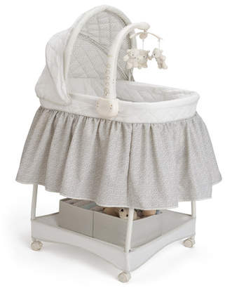 Nickelodeon Delta Children Smooth Glide Linings Bassinet