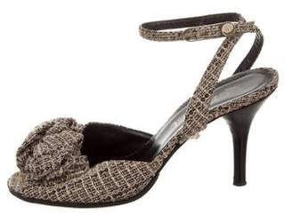 5d538b716a4e Chanel Pearl Sandal - ShopStyle
