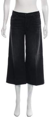 J Brand Mid-Rise Cropped Culotte Pants w/ Tags