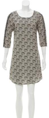 Maison Scotch Printed Mini Dress