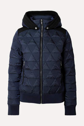 Fusalp - Loria Hooded Quilted Ski Jacket - Navy