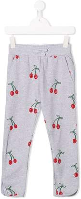Stella McCartney cherry print track pants