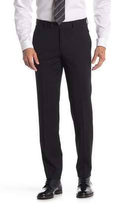 "Ted Baker Julian Black Flat Front Wool Suit Separates Pants - 32-34\"" Inseam"