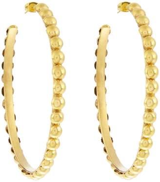 SYLVIA TOLEDANO Tribal large gold-plated earrings
