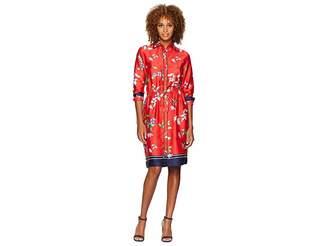 Lauren Ralph Lauren Floral-Print Twill Shirtdress