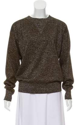 Isabel Marant Metallic Crew Neck Sweater w/ Tags
