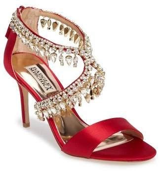Badgley Mischka Grammy Crystal Embellished Sandal