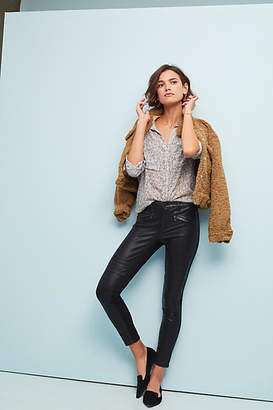 Pilcro and the Letterpress Pilcro Mid-Rise Ponte Skinny Jeans