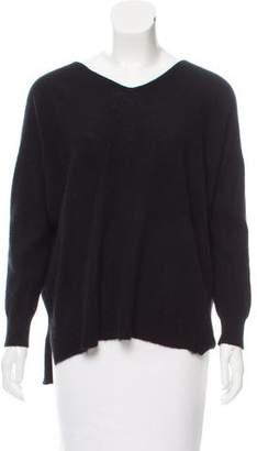 Inhabit Cutout Knit Sweater