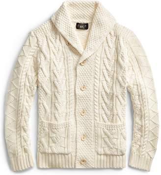 Ralph Lauren Cotton-Silk-Linen Cardigan