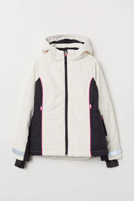 H&M Padded Ski Jacket - White