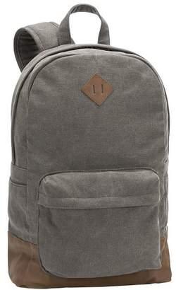 Pottery Barn Teen Northfield Solid Backpack, Charcoal