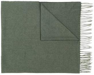 Ermenegildo Zegna fringed edge cashmere scarf