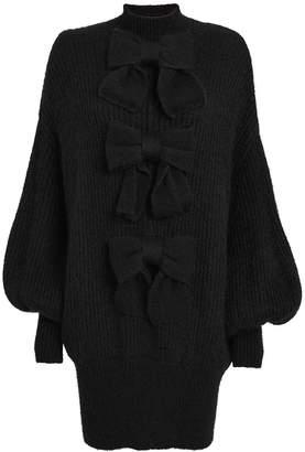 Zimmermann Resistance Batwing Sleeve Sweater Dress