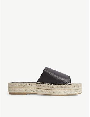 Aldo Papaikou leatherwedge sandals
