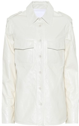 Helmut Lang Leather shirt