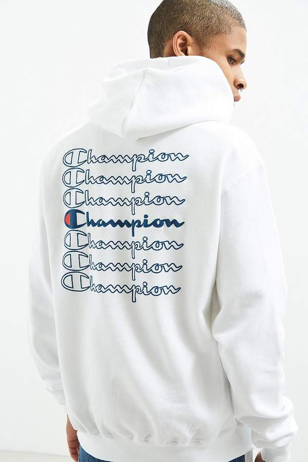 Champion Stacked Eco Hoodie Sweatshirt