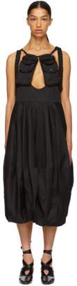 J.W.Anderson Black Utility Pockets Balloon Dress